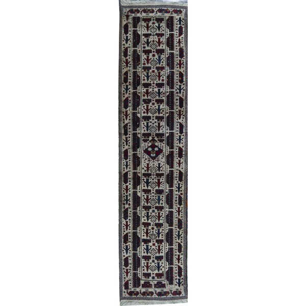 Hand Knotted Wool Black Rug