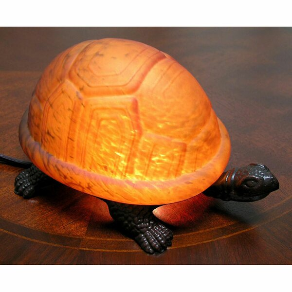 Turtle Accent 4 Table Lamp by Warehouse of Tiffany
