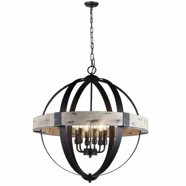 Benefiel 6 - Light Candle Style Globe Chandelier By Williston Forge