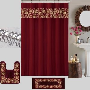 berlin shower curtain set  Brown And Red Shower Curtain   Shower Curtain Rod. Extra Brown And Red Shower Curtain. Home Design Ideas