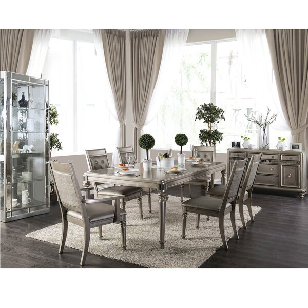 Fordyce Solid Wood Dining Table by House of Hampton