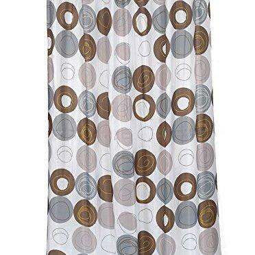 Nevin Stall Size Vinyl Shower Curtain by Ebern Designs