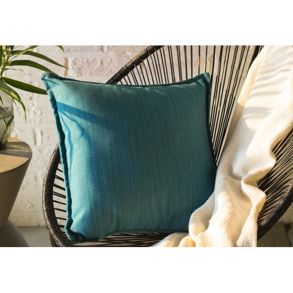 Dupione Outdoor Sunbrella Throw Pillow (Set of 2) by Austin Horn Classics