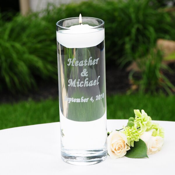 Personalized Glass Tealight Holder by Cathys Concepts