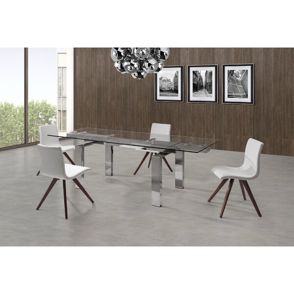 Cuatro Extendable Dining Table by Whiteline Imports
