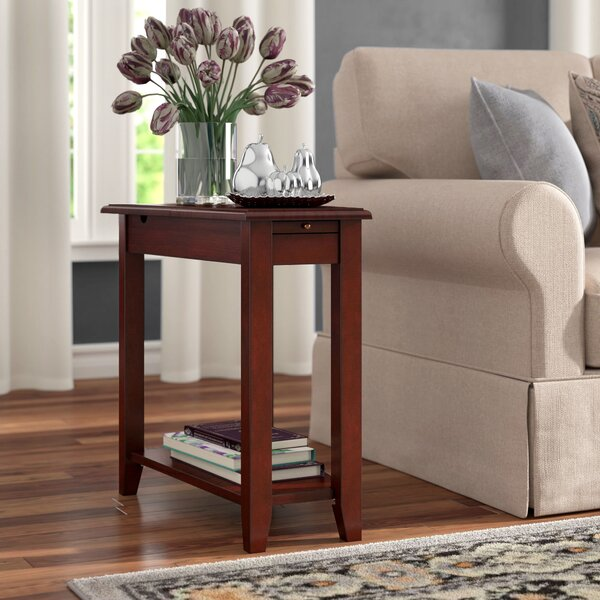 Ugarte End Table With Storage By Winston Porter