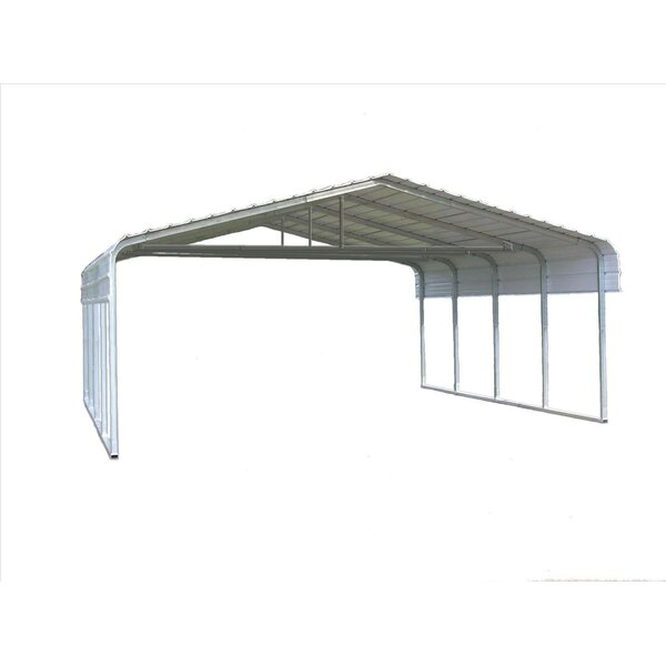 Classic 20 Ft. W X 29 Ft. D Canopy By Versatube Building Systems.