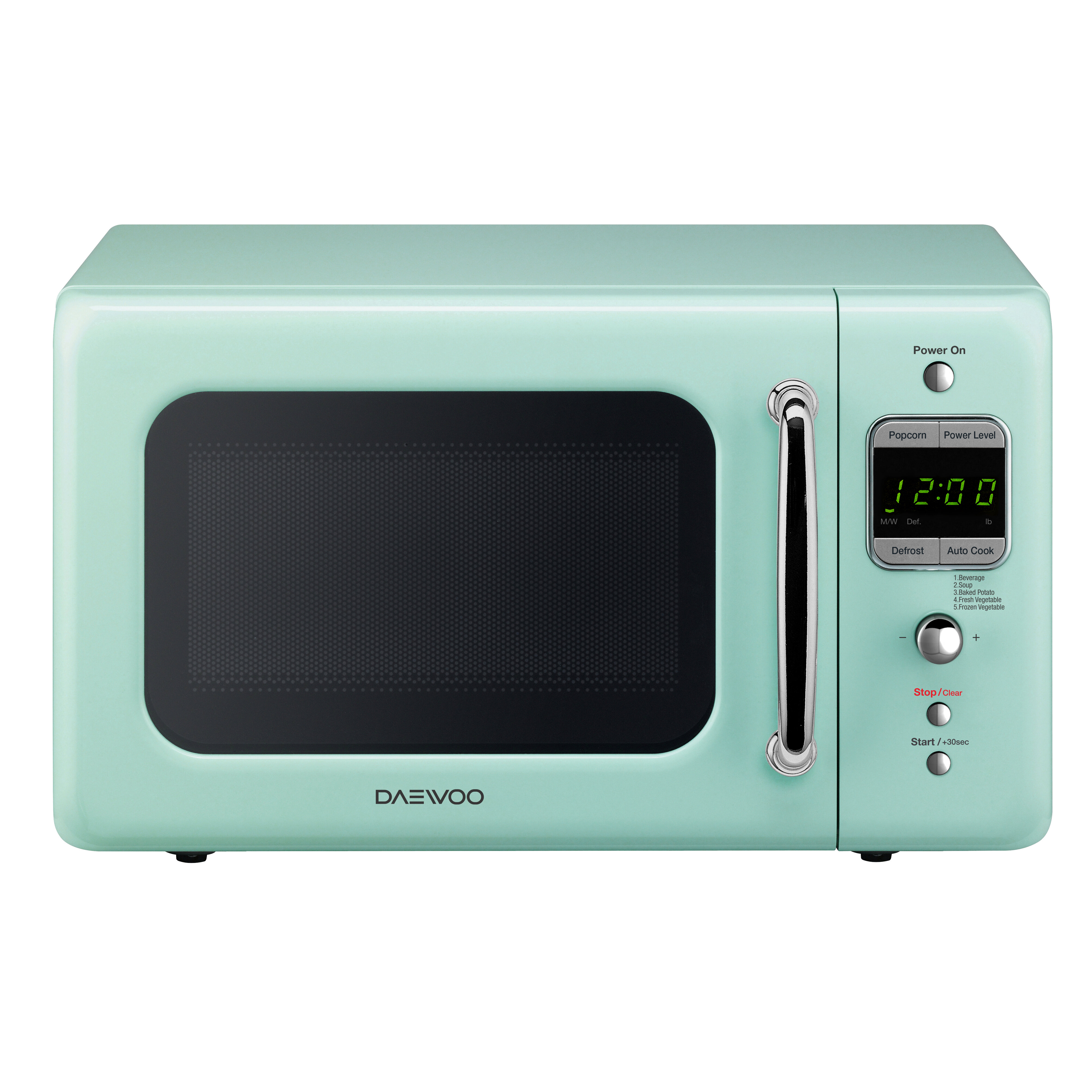 Daewoo Retro 17.6\'\' 0.7 cu. ft. Countertop Microwave & Reviews | Wayfair