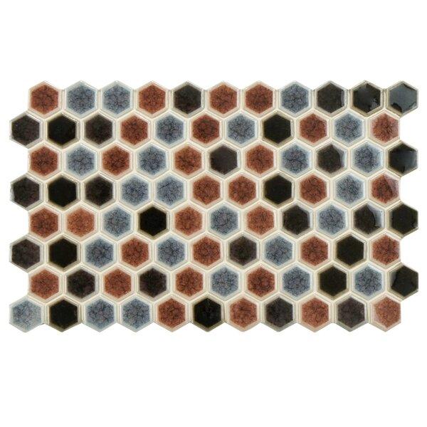 Genoa 9 x 5.5 Porcelain Mosaic Tile in Bruno by EliteTile