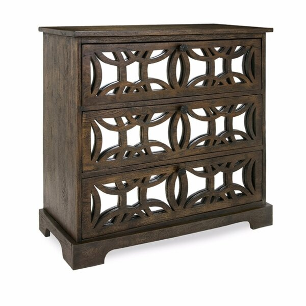 Pullen Country 3 Drawer Accent Chest by Gracie Oaks