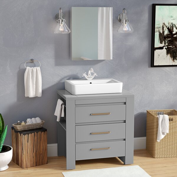 Kinchen 30 Single Bathroom Vanity Set by Latitude Run