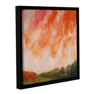 'Western Sky' Framed Painting Print on Wrapped Canvas by Loon Peak