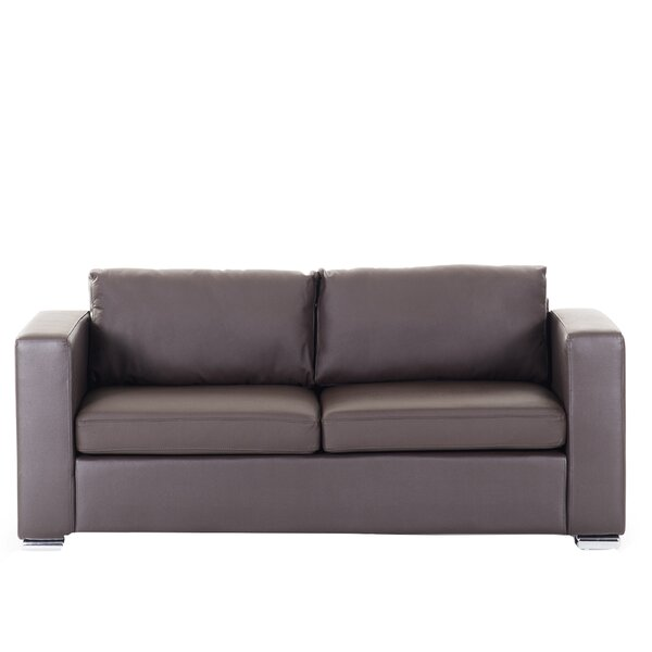 Jordon Genuine Leather Sofa by Orren Ellis