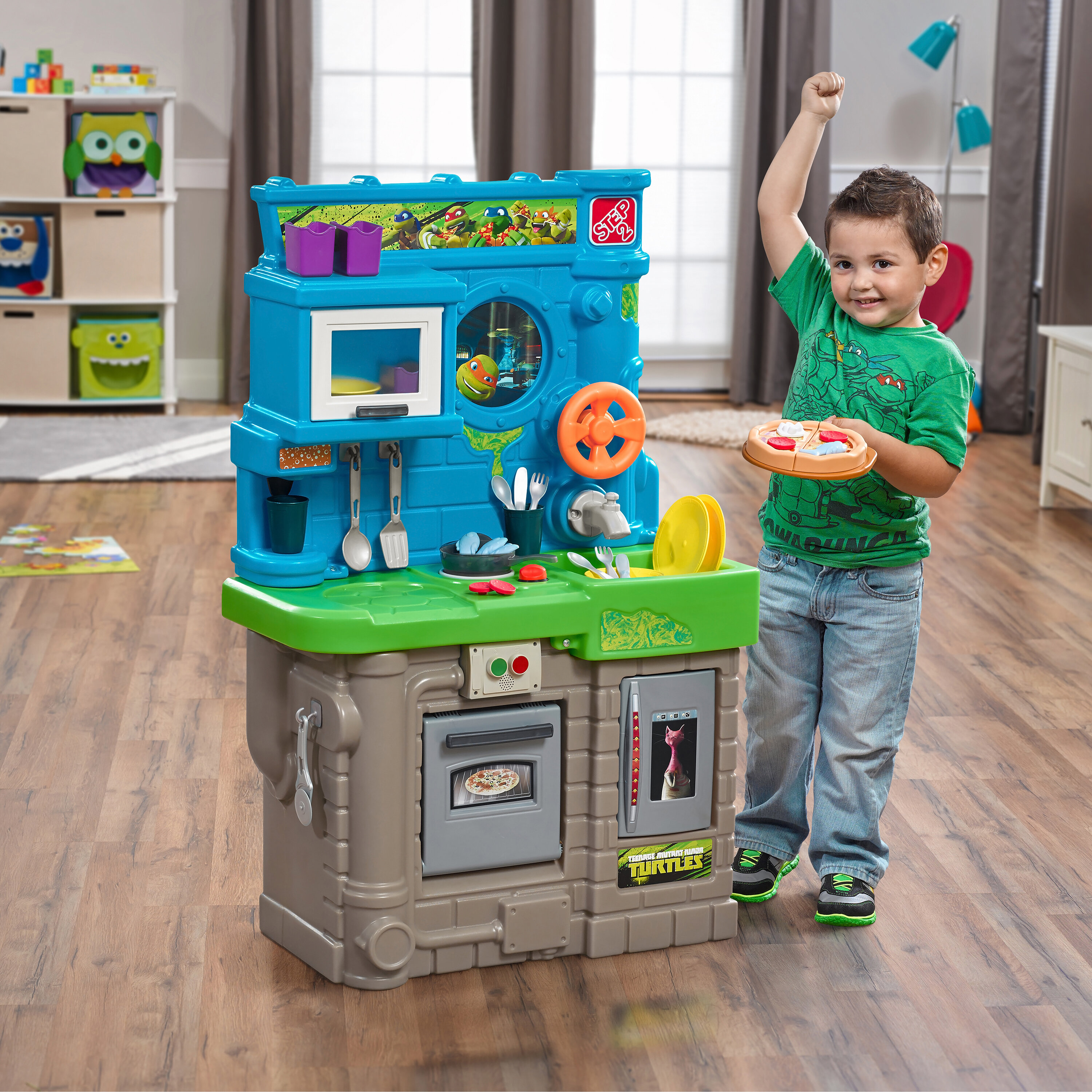 Step2 Teenage Mutant Ninja Turtle Kitchen Set & Reviews | Wayfair