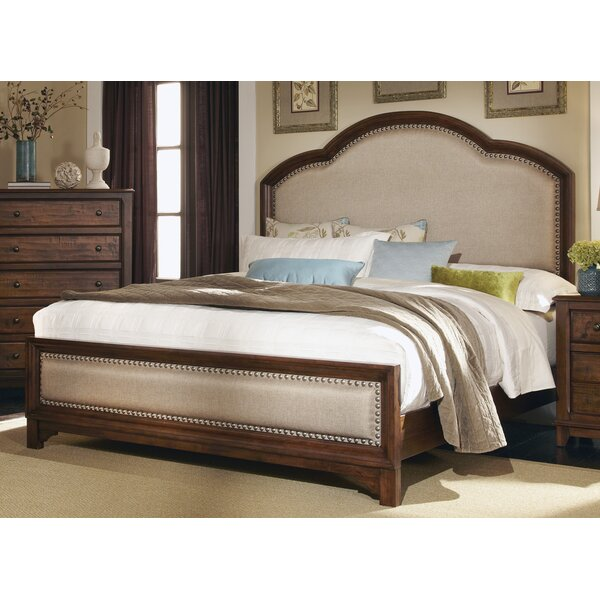 Lando Upholstered Standard Bed by Millwood Pines