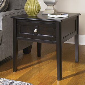 Alderbrook End Table by Alcott Hill