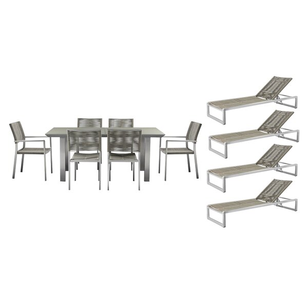 Bella 11 Piece Complete Patio Set by Orren Ellis