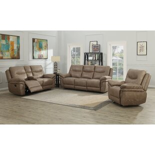 Aonna Reclining Configurable Living Room Set by Red Barrel Studio®
