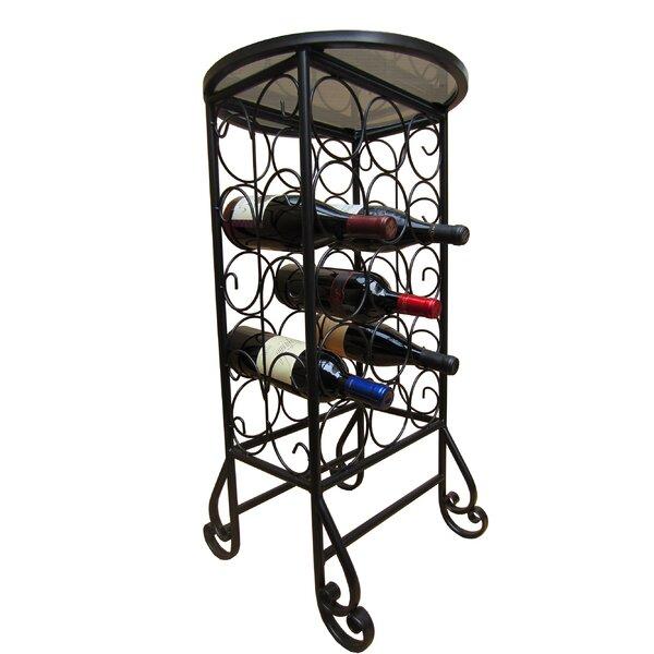 15 Bottle Floor Wine Bottle Rack by Pangaea Home and Garden Pangaea Home and Garden
