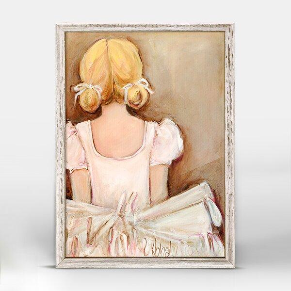 Demarco Beautiful Ballerina Framed Canvas Art by Harriet Bee