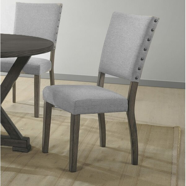Regis Upholstered Dining Chair (Set of 2) by Gracie Oaks