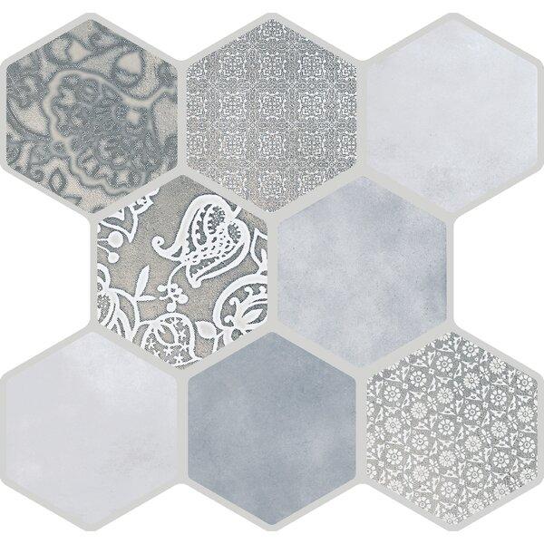 Virtue 18 x 18 Porcelain Field Tile in Gray by Emser Tile