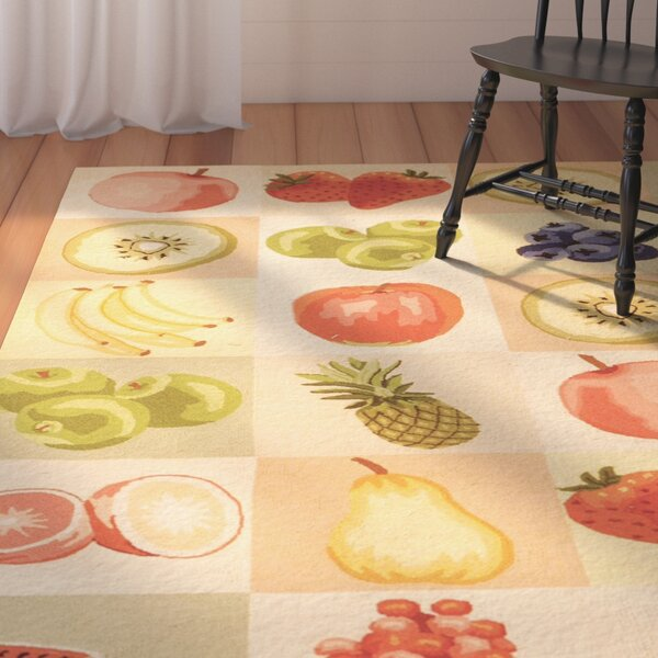 Kinchen Fruit Novelty Area Rug by August Grove
