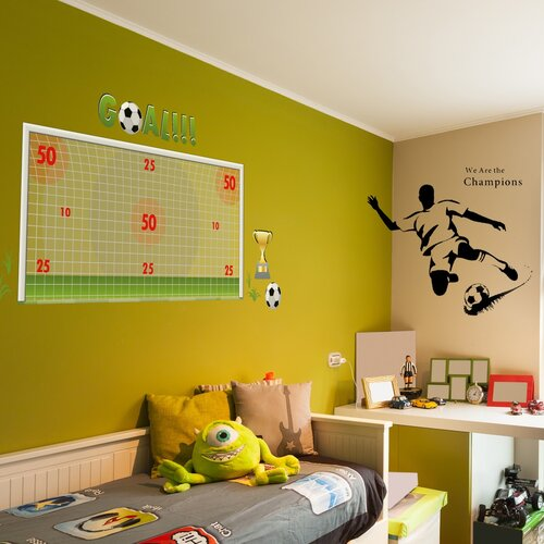 Wandtattoo Lass uns Fußball spielen Harriet Bee | Dekoration > Wandtattoos > Wandtattoos | Harriet Bee