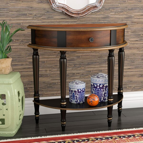 Dorine Demilune Console Table by World Menagerie