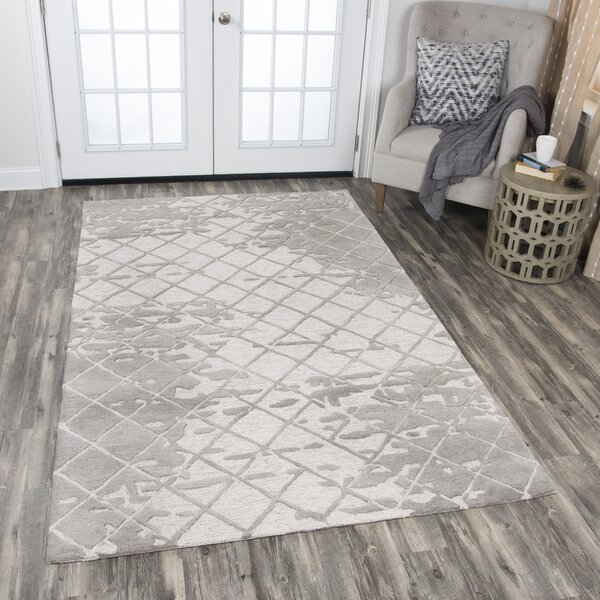 Lyman Hand-Tufted Natural Area Rug by Latitude Run