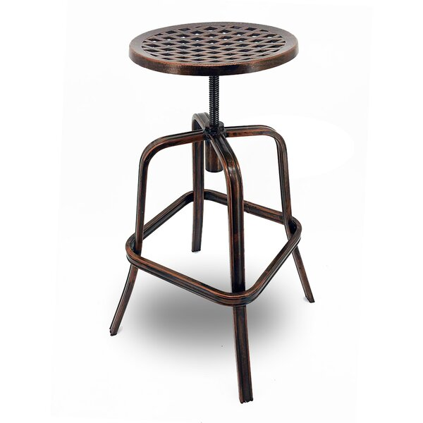 Neptune 27 Patio Bar Stool with Cushion (Set of 4) by Vandue Corporation
