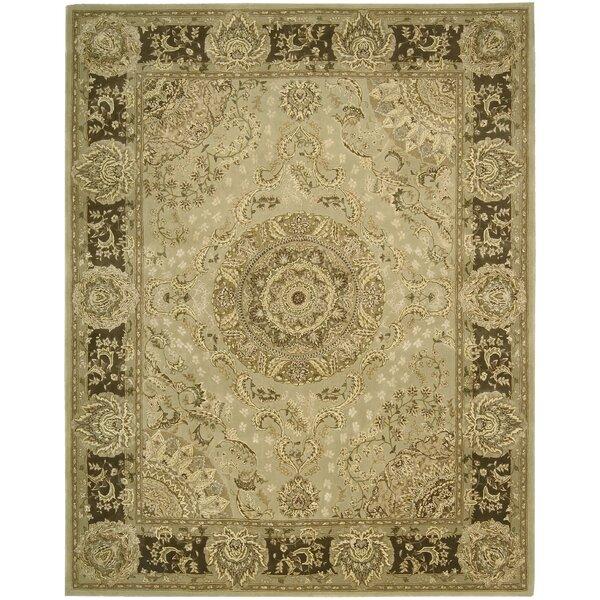 Buckhorn Hand Woven Wool Beige Indoor Area Rug by Astoria Grand