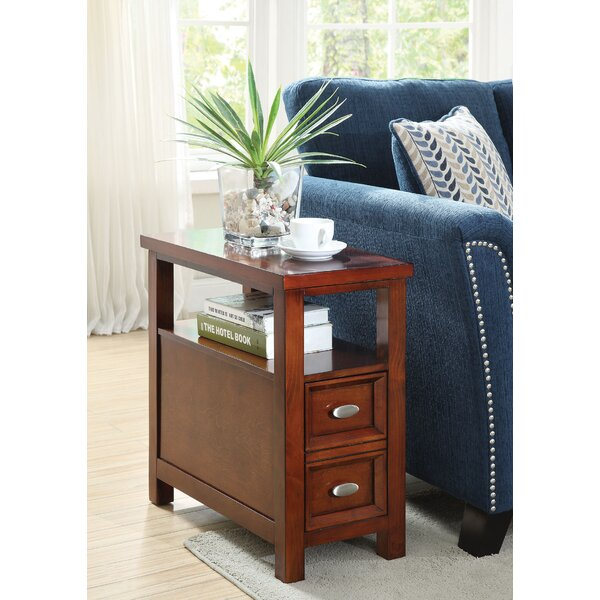 Gwaltney End Table With Storage By Alcott Hill