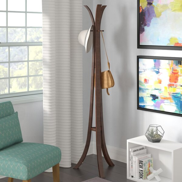 Wooden Coat Rack by Mercury Row