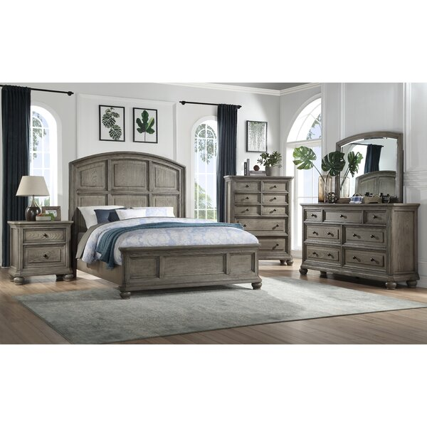 Crocker Standard Configurable Bedroom Set by One Allium Way