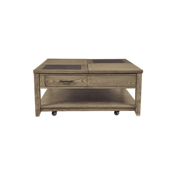 Bokoshe Lift Top Wheel Coffee Table With Storage By Gracie Oaks
