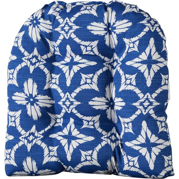 Knife Edging Indoor/Outdoor Chair Cushion by Alcott Hill