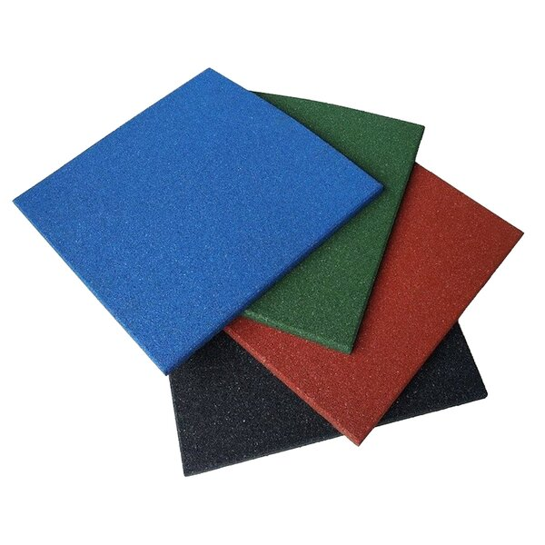 Eco-Sport Interlocking Rubber Tile (Set of 5) by Rubber-Cal, Inc.