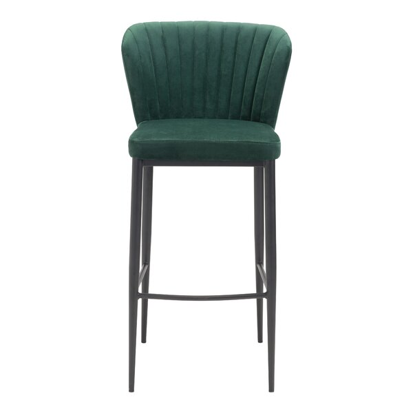 Corsham 30.1 Bar Stool (Set of 2) by Everly Quinn