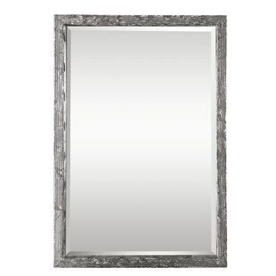 Bungalow Rose Janet Distressed Accent Mirror