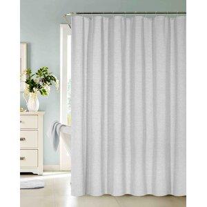 Allbright Cotton Blend Shower Curtain Set