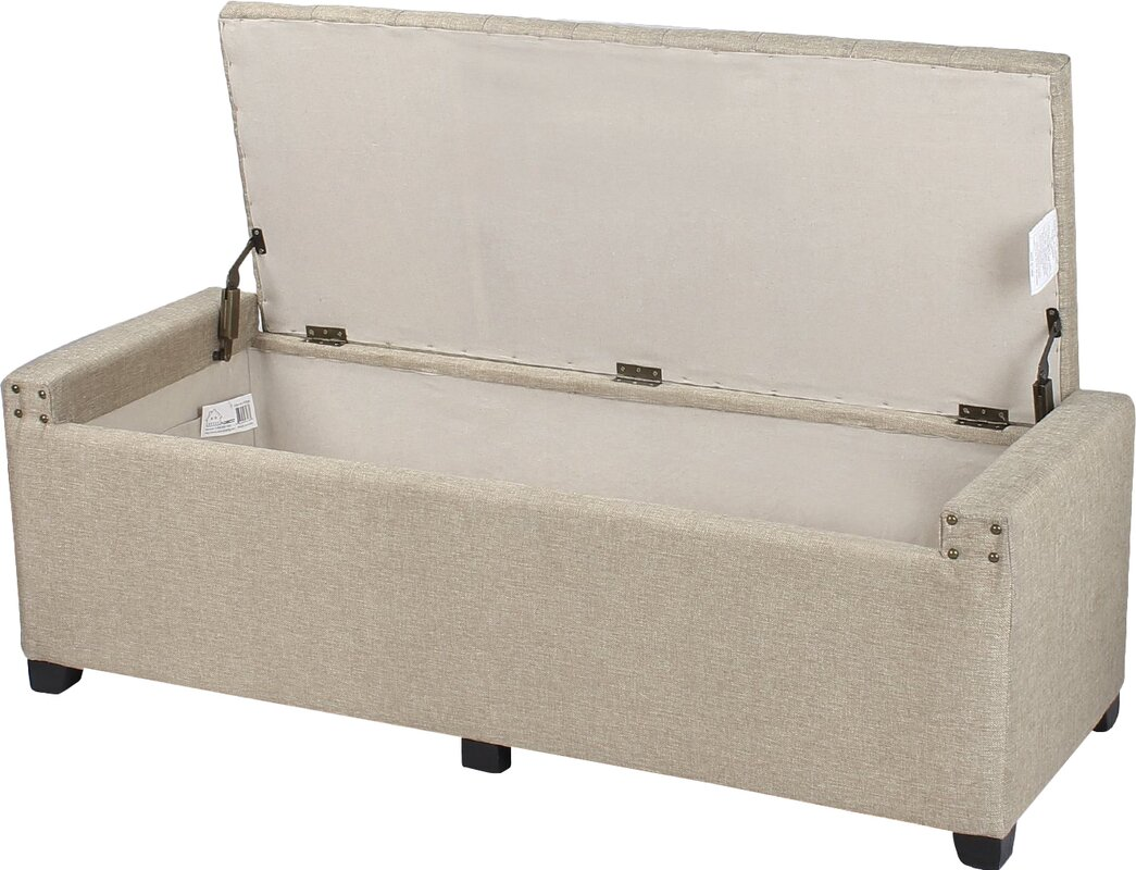 Storage Bedroom Bench By Adeco Trading