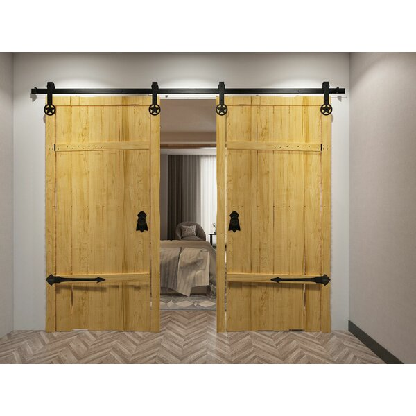 Star Barn Door Hardware by Homacer