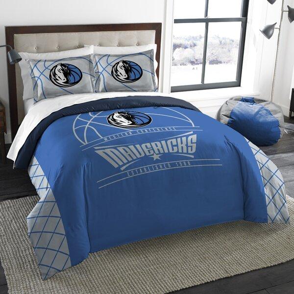 NBA Reverse Slam 3 Piece Full/Queen Comforter Set