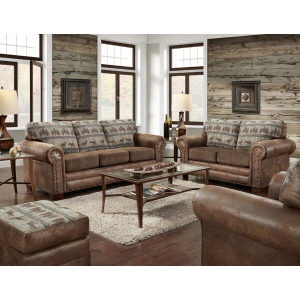 Ferdinand 4 Piece Sleeper Living Room Set by Loon Peak Loon Peak