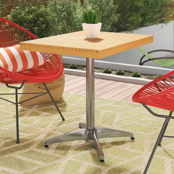 Mcgarvey Solid Wood  Bistro Table by Mercury Row Mercury Row