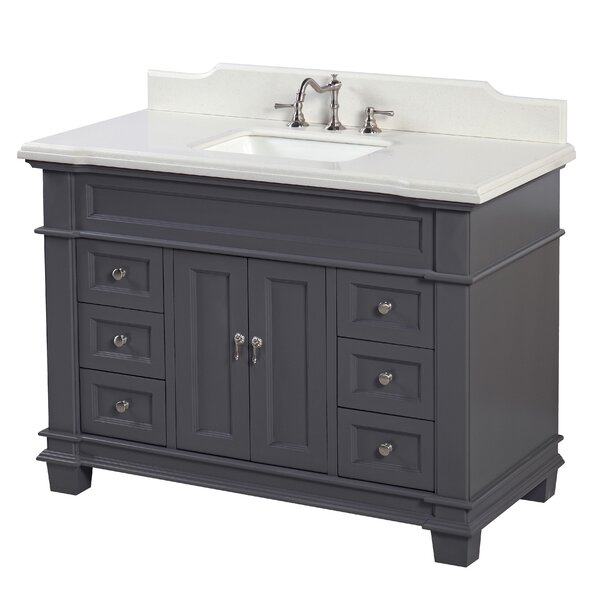 Elizabeth 48 Single Bathroom Vanity Set by Kitchen Bath Collection