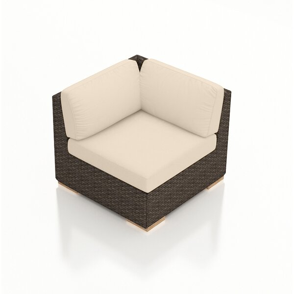 Hodge Patio Chair with Cushion by Rosecliff Heights