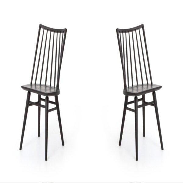 Harut Solid Wood Windsor Back Side Chair (Set of 2) by Gracie Oaks Gracie Oaks