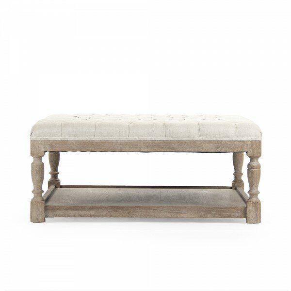 Northridge Square Tufted Cocktail Ottoman by Ophelia & Co.
